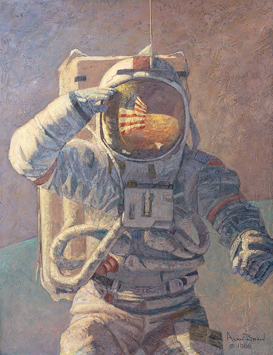 Alan bean Our personal spaceships