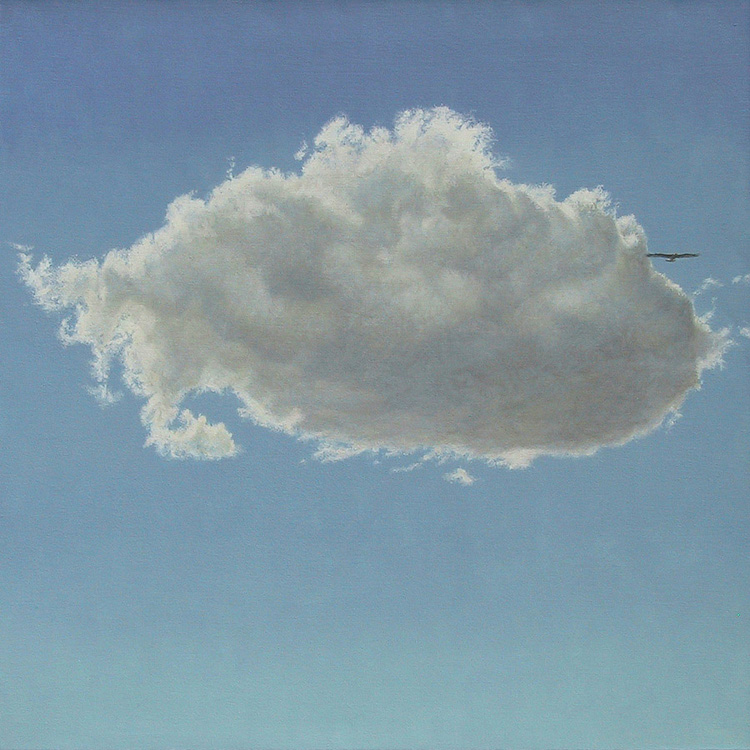 Robert Bateman Cloud and Golden Eagle