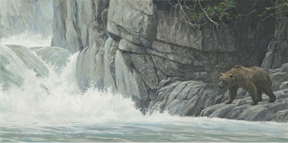 Robert Bateman Fishing Hole