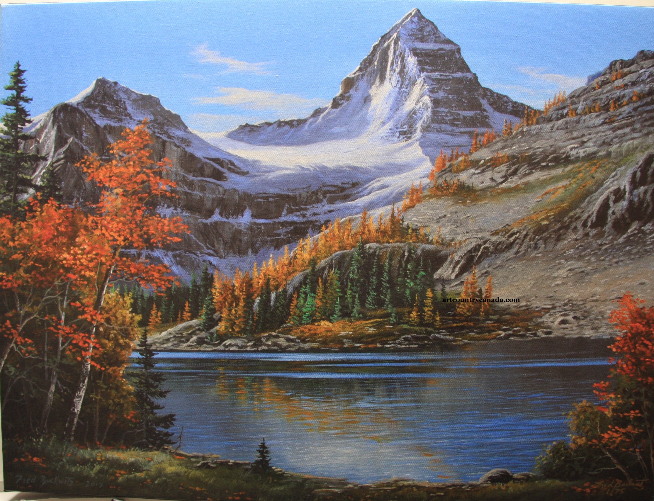 Fred Buchwitz Mt. Assiniboine Fall