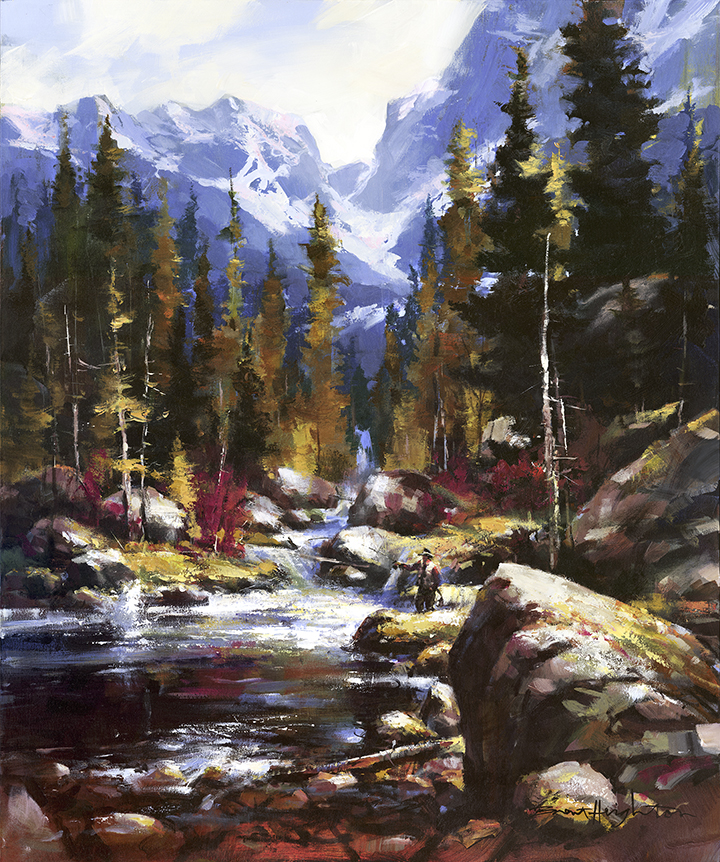 Brent Heighton Fishing Stoney Creek