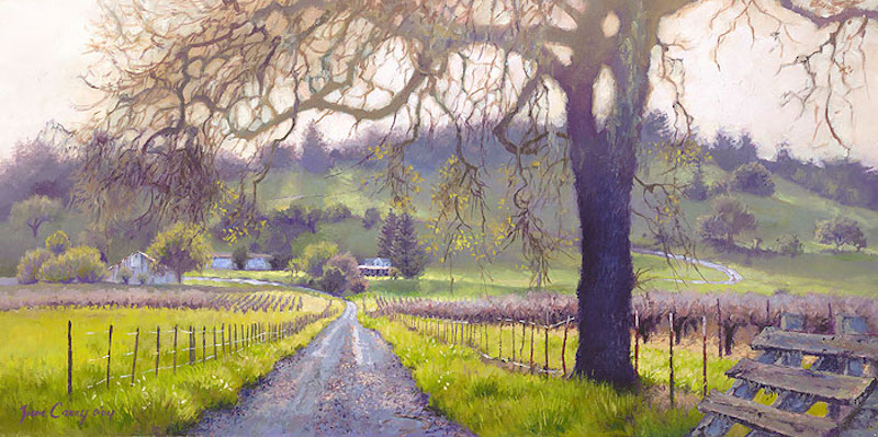 JUNE CAREY EARLY SPRING SONOMA VALLEY