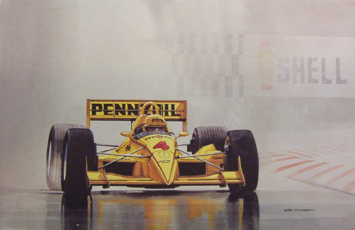 Alan Kingsland in The Rain John Andretti