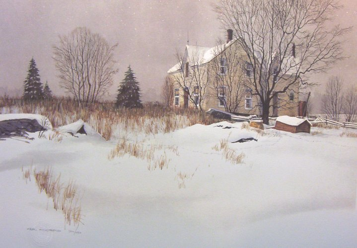 Alan Kingsland Snowtracks