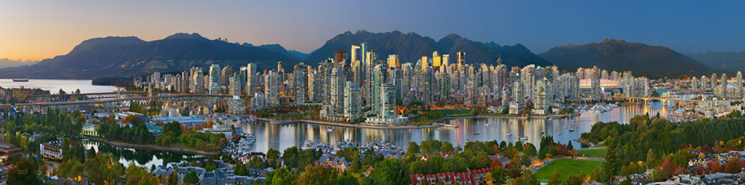 Doug Morgan Vancouver Twilight City Skyline
