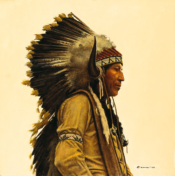 James Bama - Black Elk's Great Grandson