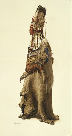 James Bama Blackfoot Ceremonial