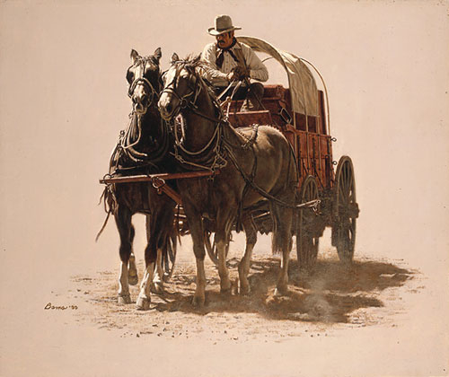 James bama Chuck Wagon