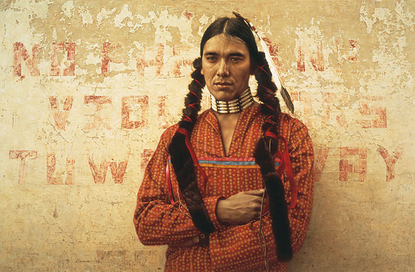 James Bama - Contemporary Sioux Indian