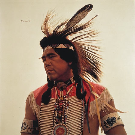 James bama Crow Indian Dancer
