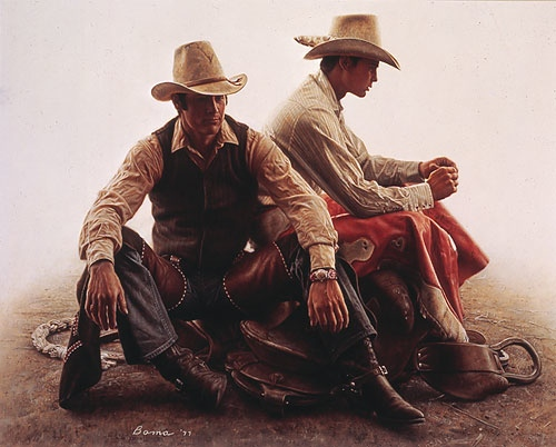 James bama The Davilla Brothers - Bronc Riders