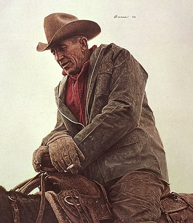 James Bama Ken Hunder Working Cowboy
