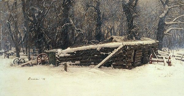 James Bama The Old Sod House