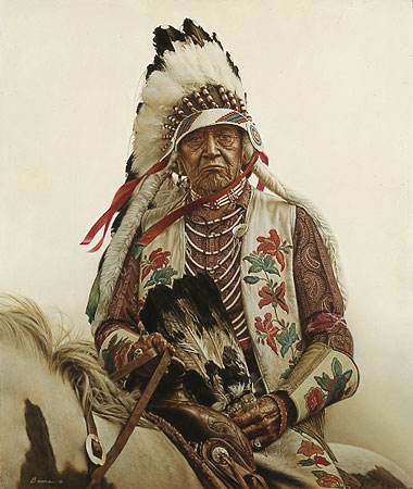 James Bama Oldest Living Crow Indian