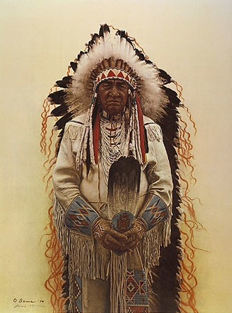 JAMES Bama Shoshone Chief