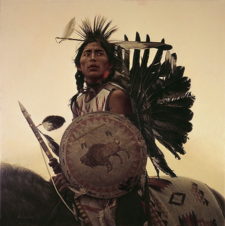 James Bama Young Plains Indian