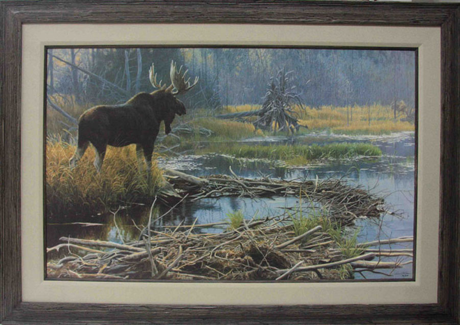 Robert Bateman Autumn Overture Framed