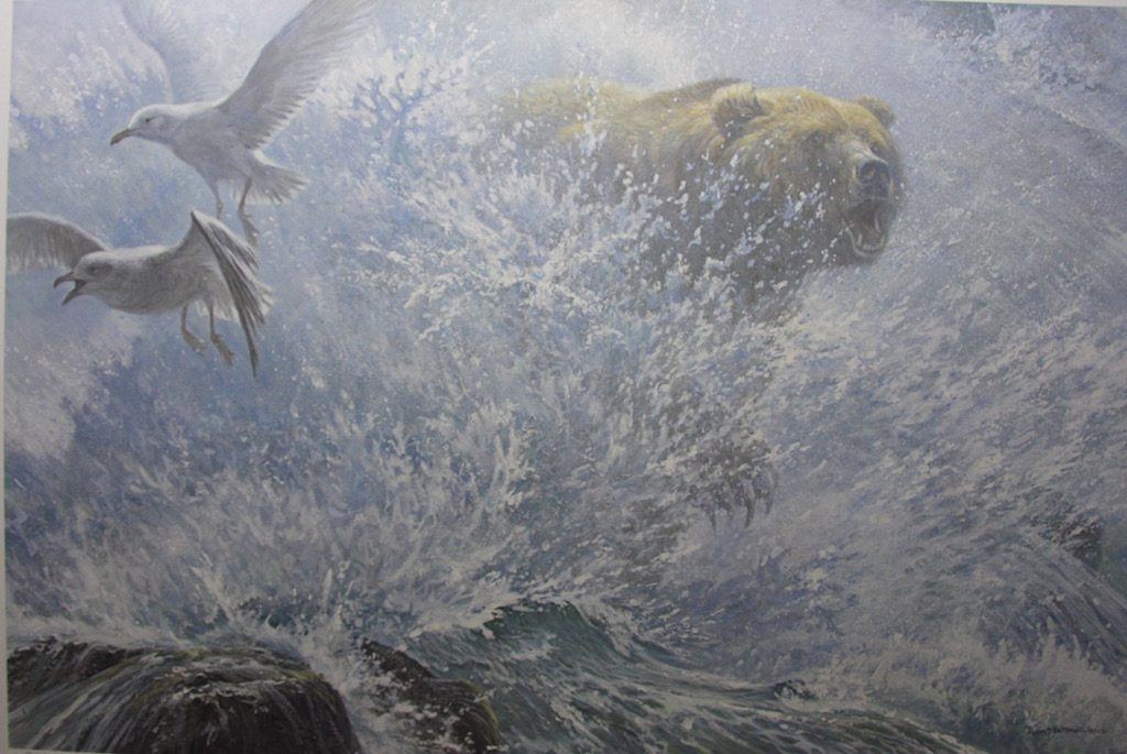 Robert Bateman Endangered Spaces Grizzly Bear