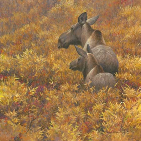 Robert Bateman Fall Forage