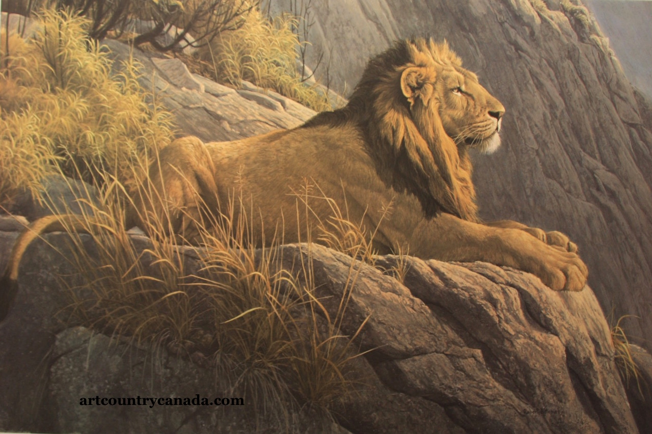 Robert bateman King Of The Realm