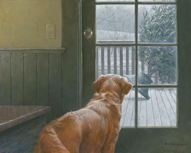 Art Country Canada Robert Bateman Observing Christmas