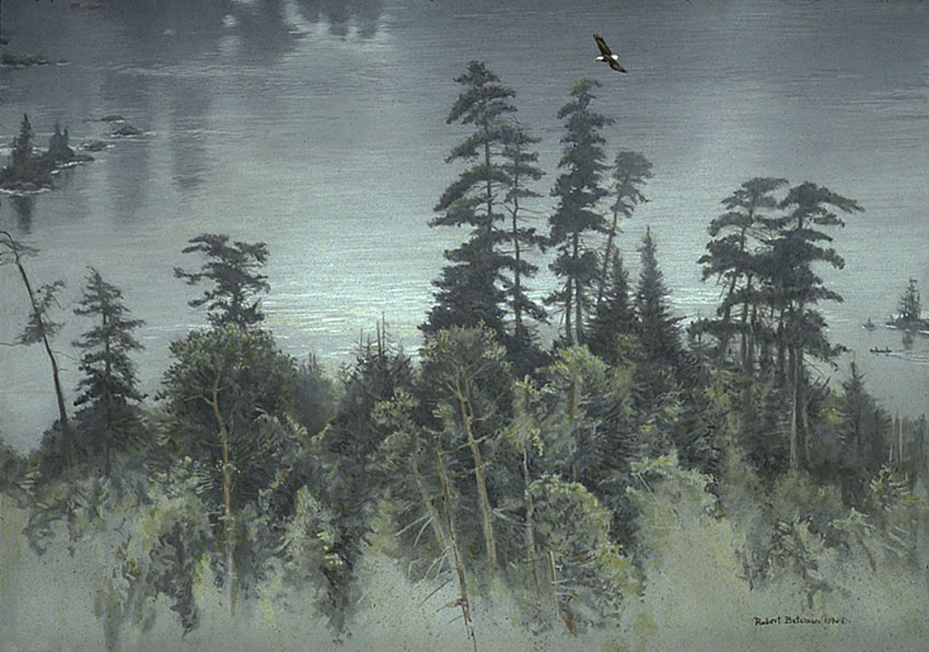 Robert Bateman Pines Of Temagami