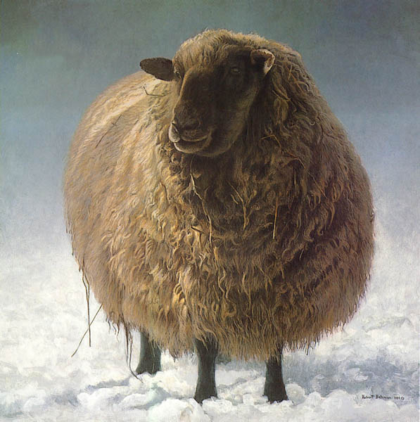 Robert Bateman Salt Spring Sheep