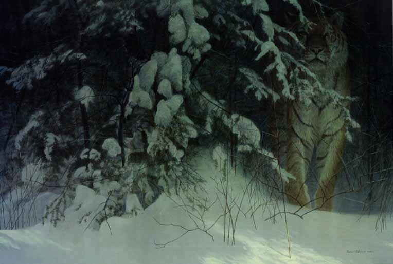 Robert Bateman Siberian Night