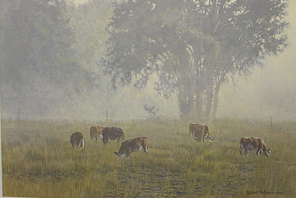 Robert Bateman Summer Morning Pasture