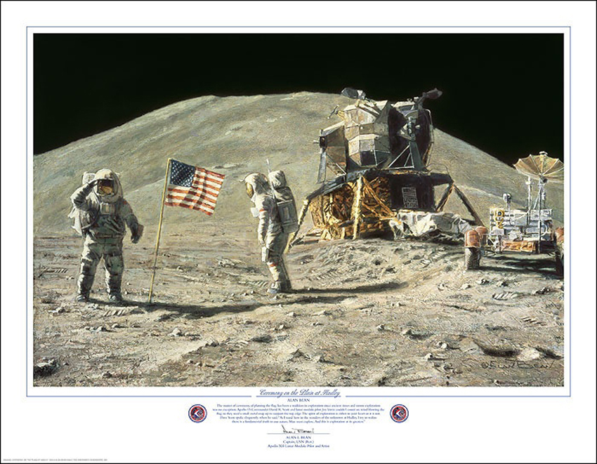 Alan Bean Ceremony at