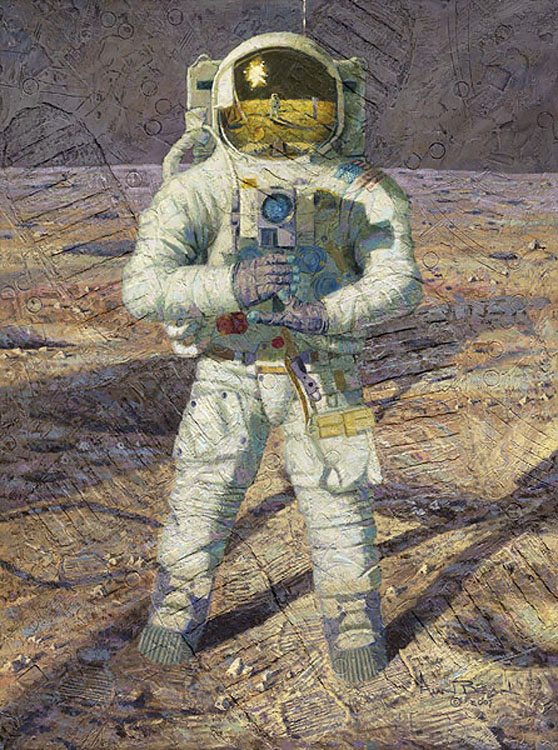 Alan Bean First Men Ab