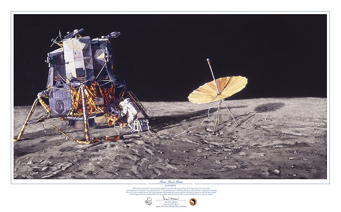 Alan Bean Home Sweet Home