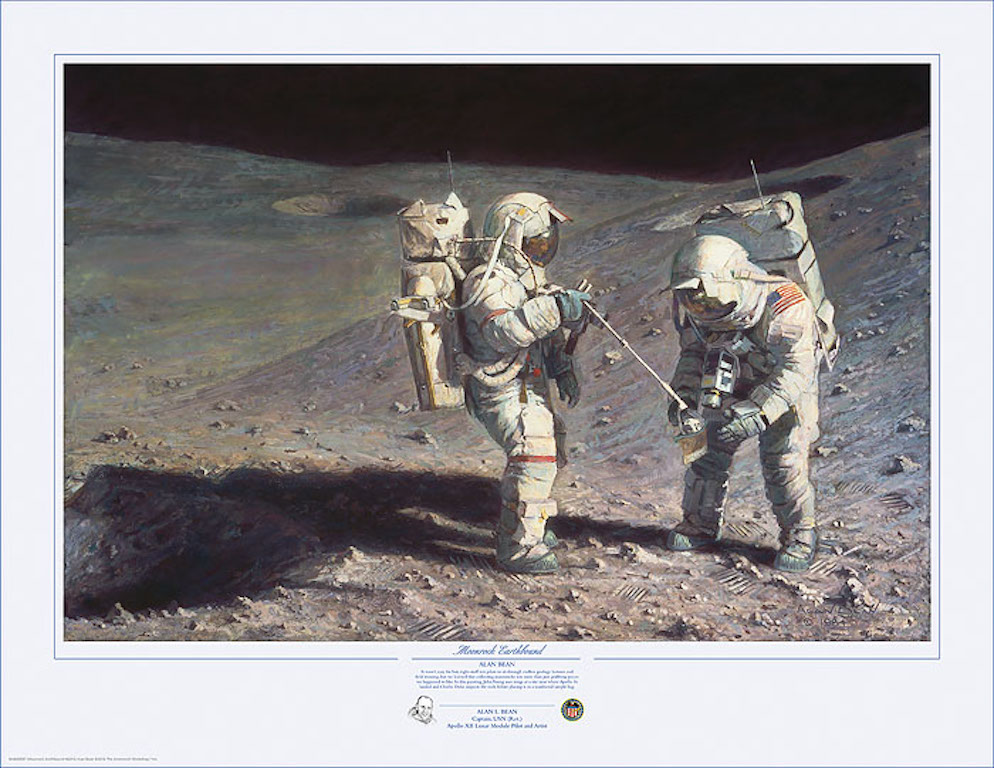 Alan Bean Moonrock Earthbound