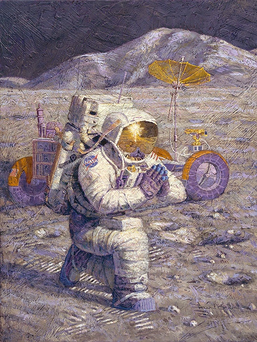 Alan Bean We Came in Peace for all Mankind