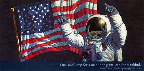 Alan Bean America's Team