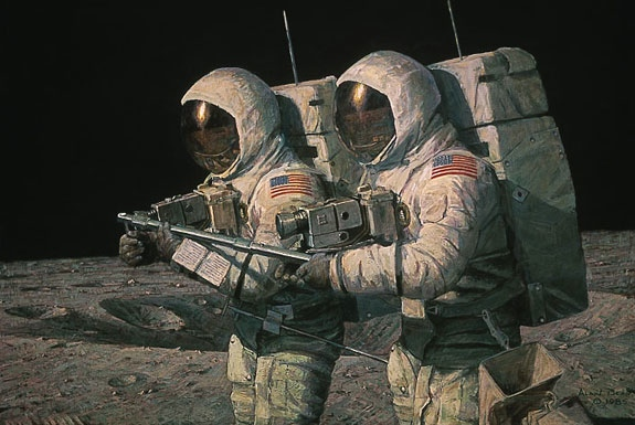 Alan Bean Helping Hands