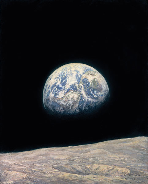 Alan Bean Mother Earth