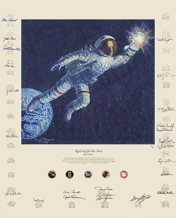 Alan Bean Reaching For The Stars