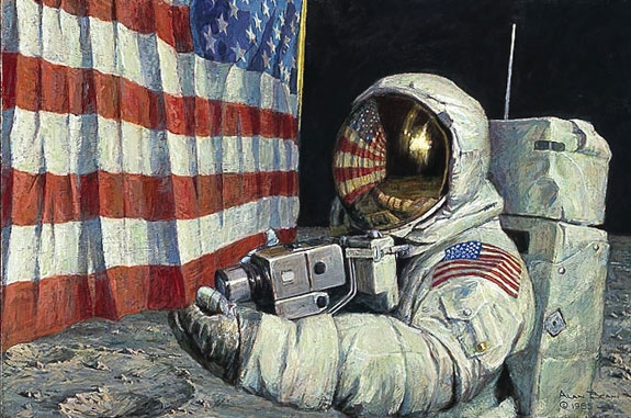 Alan Bean Straightening Our Stripes