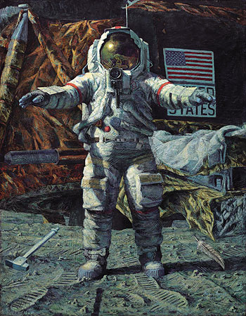Alan Bean The Hammer and the Feather