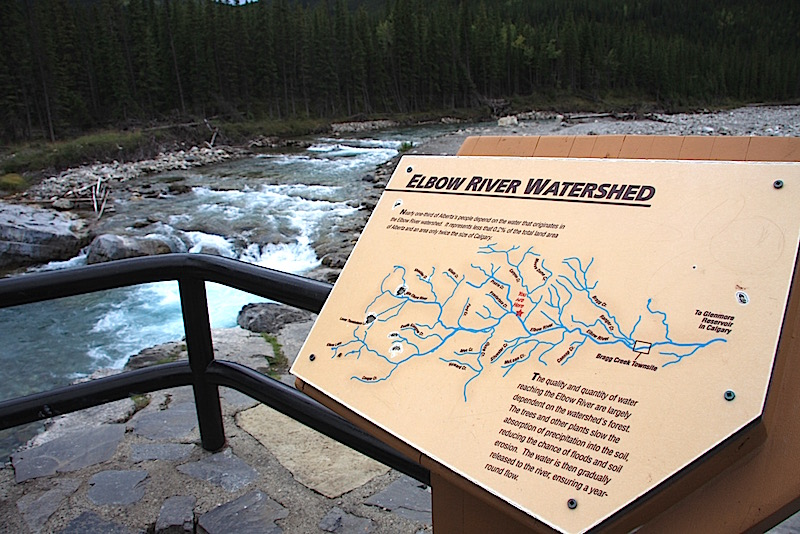 Bragg Creek Elbow Falls Watershed