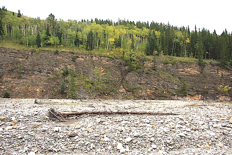 Bragg Creek Ings Mine Road
