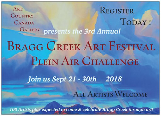 Bragg Creek Plein Air Festival