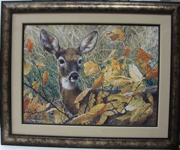 Carl Brenders Autumn Lady Framed