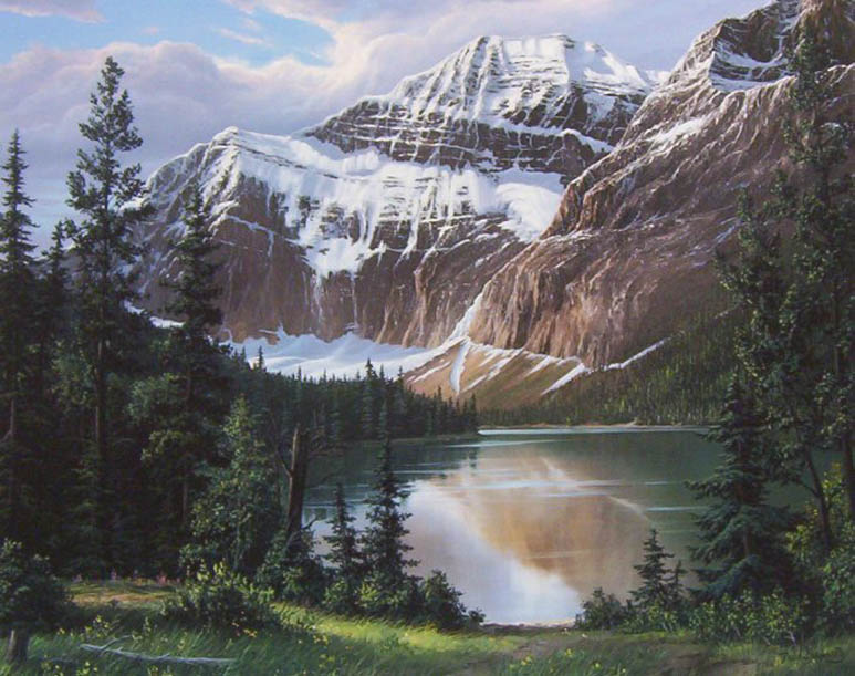 Fred Buchwitz Mount Edith Cavell