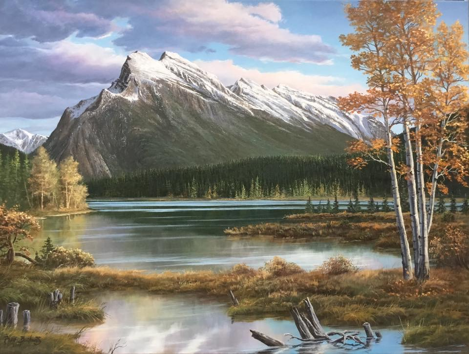 Fred Buchwitz Mount Rundle