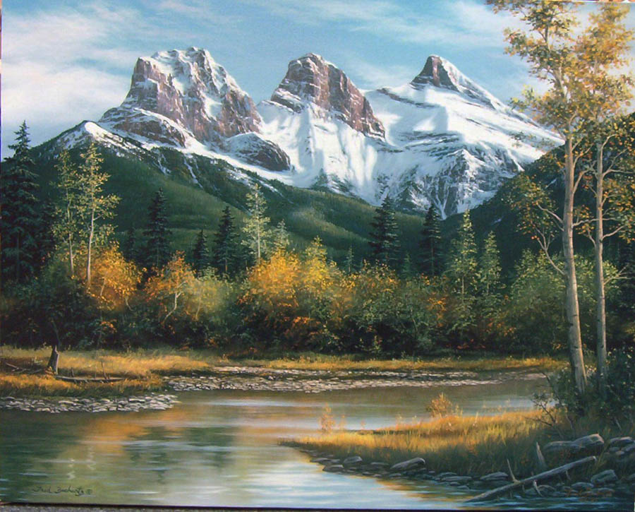Fred Buchwitz Three Sisters Canmore