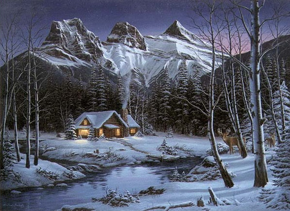 Fred Buchwitz WinterSolitude Three Sisters
