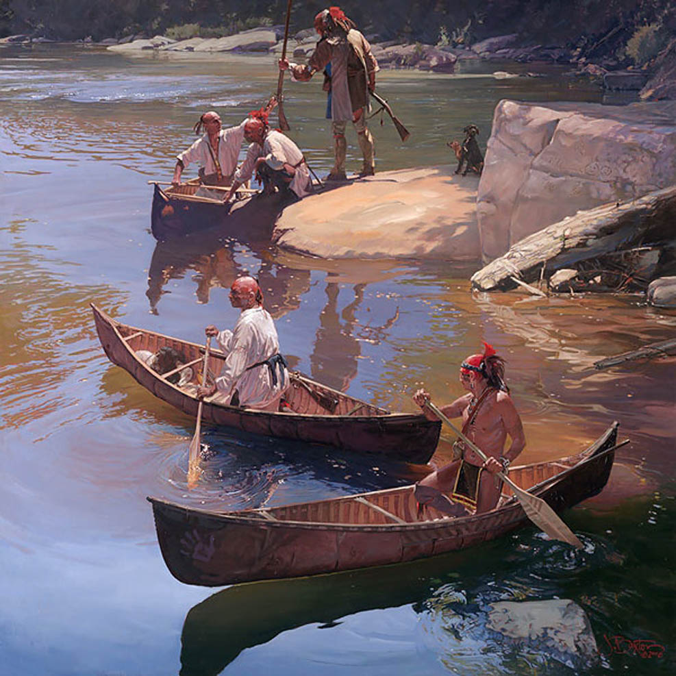 John Buxton The Agile Bark Canoe