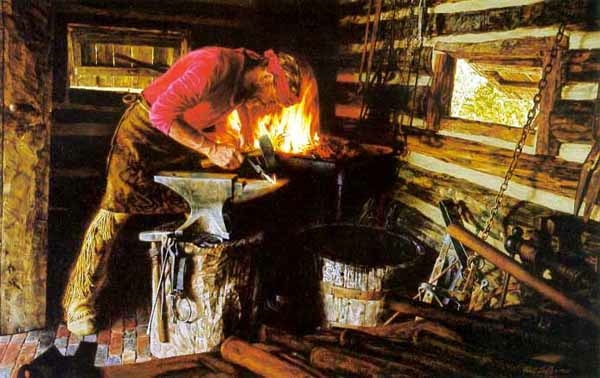 Paul calle frontier Blacksmith